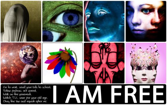 I AM FREE by envision3