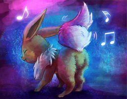 Shakes it Eevee!!