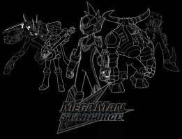 MMStarforce 3 Trace Group Shot by MegamanXstream