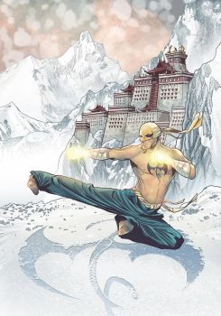 Iron Fist - Welcome to K'un-Lun by LudoDRodriguez