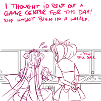 Ask Chibiusa - Mother's Day by sammywhatammy