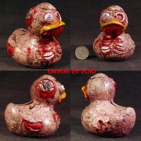 Rot Zombie Duck Coin bank by Undead-Art