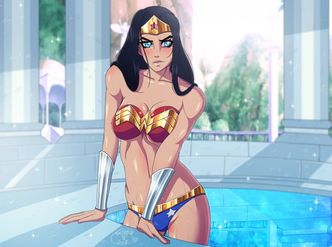 Wonder Woman! NSFW AVALIABLE! by StretchNSin