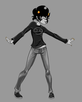TRANSFORM!:  Fem!Karkat into Knight of Blood! by SkooIsCoo