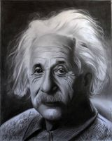 Albert Einstein by donchild