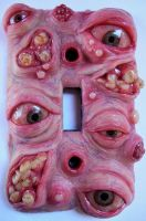 Terrible teratoma switchplate by dogzillalives