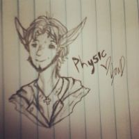.:Physic Headshot doodle thing:. by DancingWithDreams