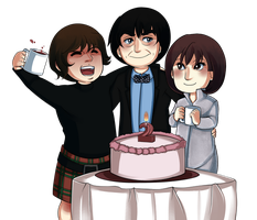 30 Day OTP 27: On One of Their Birthdays by Hokutochan15
