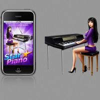 star piano for iphone game by st-valentin