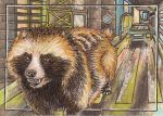 Far From Home ACEO by Redwall151
