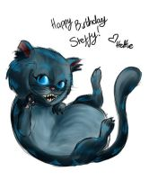 The Cheshire Cat. by Vampyre1o5