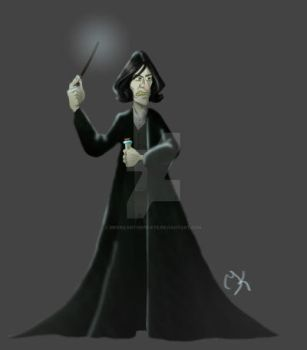 Snape by MerrilynthePirate