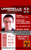 my Umbrella ID badge by Pencilshade
