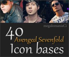 40 A7X icon bases by megalomaniaCi