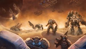 Starcraft Terran Legion by phanou36