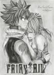 Fairy Tail - Natsu and Lucy by mangaslover
