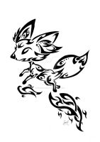 Tribal Fennekin by Friend-Owl