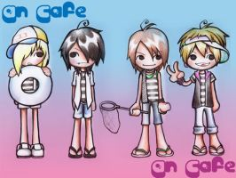 An-Cafe -with bou- by 00hypodermic00