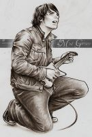 Gerard Way V -in progress- 2 by mcr-raven
