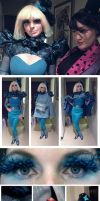Catching fire movie outfit by ihni
