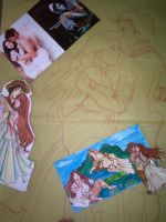 Initial Illustrations Pics by tonieliemariae