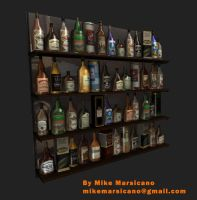 bar bottles resources by mikemars