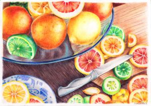 A slice of citrus by SimonneX