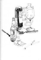 Sketches_Beer and Wine by BenWolstenholme