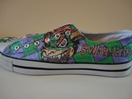 Mario Shoes 'BWAHAHAHA' by missMaxx