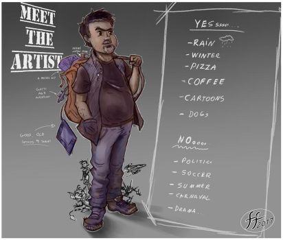 Meet the  Artist by 14-bis