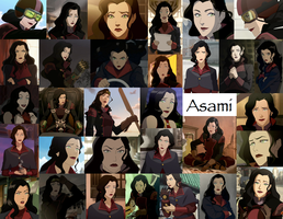Asami collage by JackieStarSister
