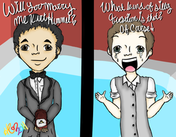 Klaine Proposal by HannahRenae