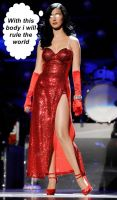 Katy Perry possessed by Jessica Rabbit by messiasguardiola