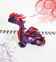 Purple Dragon - 'share some love' entry by FrozenNote