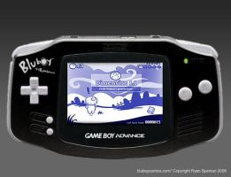 BluBoy: GBA - Screen01 by bluBoyComics