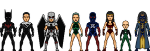 Justice League Unlimited by MicroManED