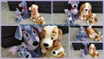 Disney Store Lady and the Tramp! by Vesperwolfy87