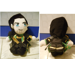 Loki Plushie by CrazyOtaku13