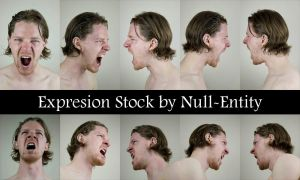 Expression Stock - *Scream* by Null-Entity