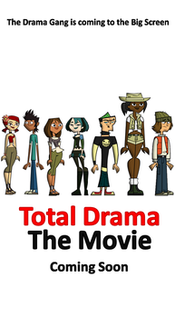 Total Drama The Movie Teaser Poster by DEEcat98