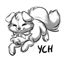 Sushi Dog YCH Auction [CLOSED] by Kamirah