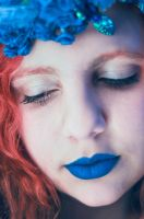 Blue lips, blue veins by burnmydress