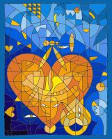 Heart Afire With Love by Yundah