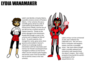 LYDIA WANAMAKER by JohnnyFive81