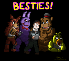 Five Nights at Freddy's by Rochejii