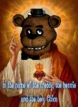 Lord and Savior Freddy will bring us salvation by MaleBonnieV2Sewp
