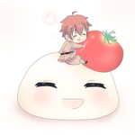 Request - Spain and his mochi by Mi-chan4649