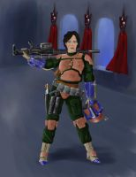 Mandalorian Female Revised by Kuk-Man