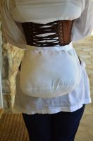Bustle Pad - Back View by moonbowsinc