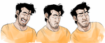 [Markiplier] Faces of a beautiful man. by vickyjane